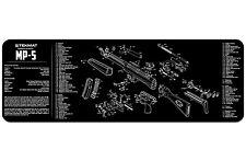 "NEW Armorers H&K MP-5 Rifle TekMat Gun Cleaning Mat 12""x36"" Parts Diagram 36-MP5"