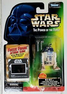 1997 Star Wars Power of Force|POTF Freeze Frame Figure|R2-D2 Pop Up Scanner+|MOC