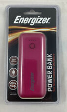 NEW! Energizer UE5007 5000mAh Power Bank for Smartphones - Pink / New Sealed