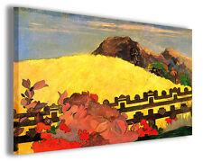 Quadri famosi Paul Gauguin vol XVII Stampa su tela arredo moderno arte design