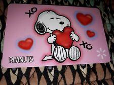 Peanuts Snoopy Walmart Gift Card NO CASH VALUE Cute!