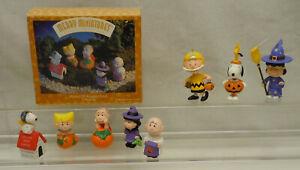 Hallmark Peanuts Halloween Christmas Ornaments Charlie Brown Snoopy Lucy