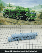1/144 RESIN KITS Chinese DF-21 Ballistic Missile Launcher