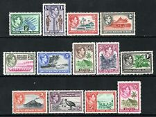 British Solomon Islands KGVI 1939-51 Set SG60-72 LM/Mint