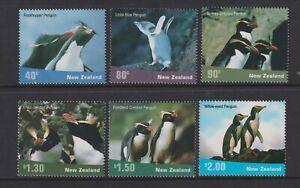 New Zealand - 2001, new zealand Penguins set - MNH - SG 2452/7