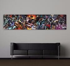 MARVEL COMICS - X-MEN MONTAGE - MASSIVE - TOP QUALITY GIANT POSTER ART PRINT