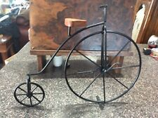 Metal Unicycle On Stand- Decorative Art