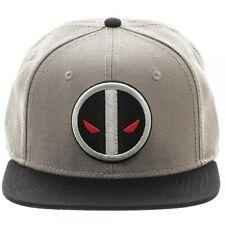 OFFICIAL MARVEL COMICS DEADPOOL X FORCE COSTUME STYLED GREY SNAPBACK CAP (NEW)