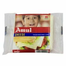 Amul Cheese - Slice Pizza cheese Vegetarian Pouch Source of Calcium And Milk /S