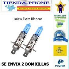 2X  H1 12V 55W BOMBILLA LAMPARA HALOGENA EXTRA BLANCO BOMBILLA DE COCHE