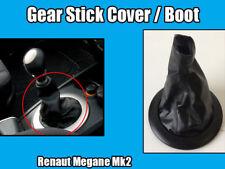 Gear Shift Stick Cover For Renault Megane MK2 2002-2009 Boot Black 8200454976S