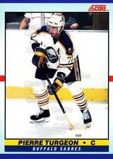 1990-91 Score Young Superstars #1 Pierre Turgeon