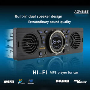 Car Radio Bluetooth Stereo Head Unit MP3/USB/SD/AUX-IN/FM In-dash Player 1DIN