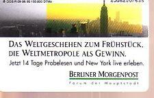 Telefonkarte Deutschland R 09 /1995 gut erhalten + unbeschädigt (intern:2071)