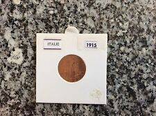 1 pièce Italie 2 centimes 1915 - Vittorio Emanuele III