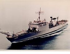 US Navy Class Tank Landing Ship La Moure County LST-1194 Photo 8x11.5