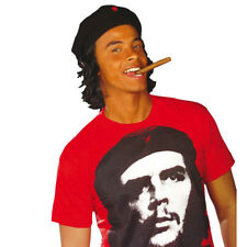 Che Guevara hat with Hair Beret Carnival Cuba Headpiece Carnival