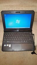 "Mini Laptop Portátil Toshiba NB300 Negro 10.1"" 1GB 160GB Webcam Windows 7 Office"