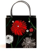 2 SMALL DAHLIA CONTEMPORARY LUXURY SMALL BAG GIFT HEN NIGHT WEDDING PARTY EVENT
