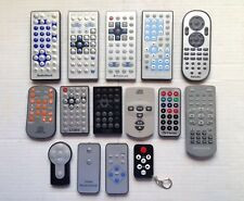 (15) Dvd Player Camera Remote Control Lot Of Controls, Dynex, Radio Shack, More