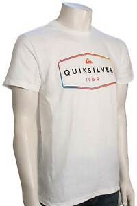 Quiksilver Stear Clear T-Shirt - White - New
