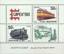 Timbres Trains Corée BF238 ** année 1996 lot 28103