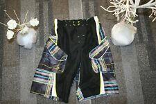 Ocean Pacific Boy's Black Swim Trunk Shorts Size 8   run sporting school casual