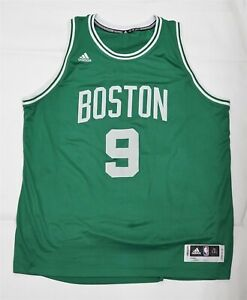 Adidas NBA Rajon Rondo Boston Celtics 2XL Jersey Green #9 C0227