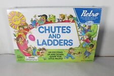Chutes and Ladders Retro Series Board Game 1978 Edition by Hasbro Gaming