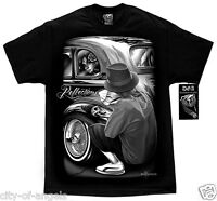 Authentic DGA David Gonzales Homies Reflections Lowrider Car Show Cholo T Shirt