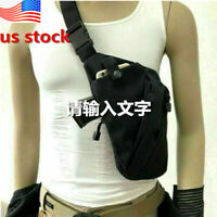 Anti-theft Invisible Men Chest Sling Crossbody Bag Gun Holster Pouch Pack