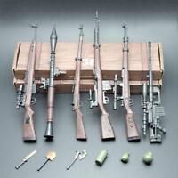 6Pcs/Set 1:6 Design RPG Gewehr Pistole Gun Modell Spielzeug Automatic Rifle Mode