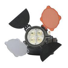 Pro LED-5005 Hot Shoe LED Light Lamp F Video Camcorder DV camera 12W 5500K-6500K
