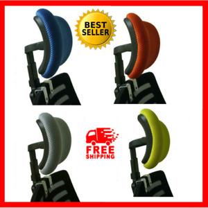 Chair Headrest Office Desk Swivel Lifting Adjustable Neck Spine Back Protection