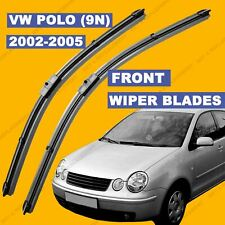 Side Pin Front set Wiper Blade For VW Polo 2002-2005 52 53 54 55 reg