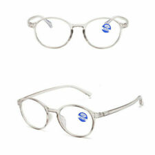 Men Women Round Reading Glasses Clear Lens Eyewear Eyeglasses 1.0 to 4.0
