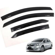 Doors Visor Windshield Wind Deflector Weather Guard For Toyota Vios 2007-11