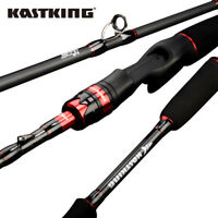 KastKing Max Steel Rod Carbon Spinning&Casting Fishing Rod for Bass Pike Fishing