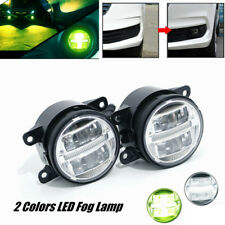 2X Car LED Lens Light Fog Lamp Front Bumper Original Spotlight Driving Headlamp