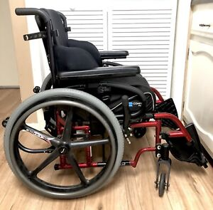 Quickie 2 Lightweight Wheelchair X-Core wheels and M2 Motion Cushion