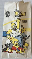 Burger King Kid's Meal - 2007 The Simpsons Movie Kid's Meal Bag