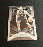 C23 Quinndary Weatherspoon 2019-20 Panini Prizm Base Rookie Card RC #285 Spurs