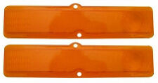 (#A3044)  1963, 1964, Chevy II / Nova Tail Light Lens Pair AMBER