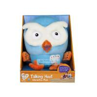 Giggle and Hoot Talking Hoot Kids Stuffed Plush Hottest Character Toy 17cm