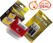 ID Protection Self Inking Stop Identity Theft Erase Hide Rolling Privacy Stamp