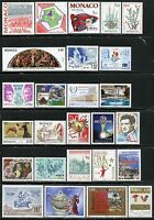 MONACO 1998  LOT OF MINT NEVER HINGED STAMPS