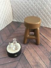 Harry Potter Stool And Magic Potions 1/6 Barbie Doll Witch Wizard
