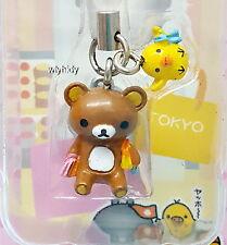 Rilakkuma Figure Mascot Strap #3 Japan Tokyo Limit - San-X   , #2ok