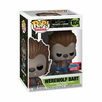 The Simpsons - Bart Werewolf NYCC 2020 US Exclusive #1034 Pop! Vinyl