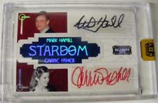 STAR WARS RARE CARRIE FISHER MARK HAMILL AUTOGRAPHED SIGNED 8 OF 10 SEALED MINT